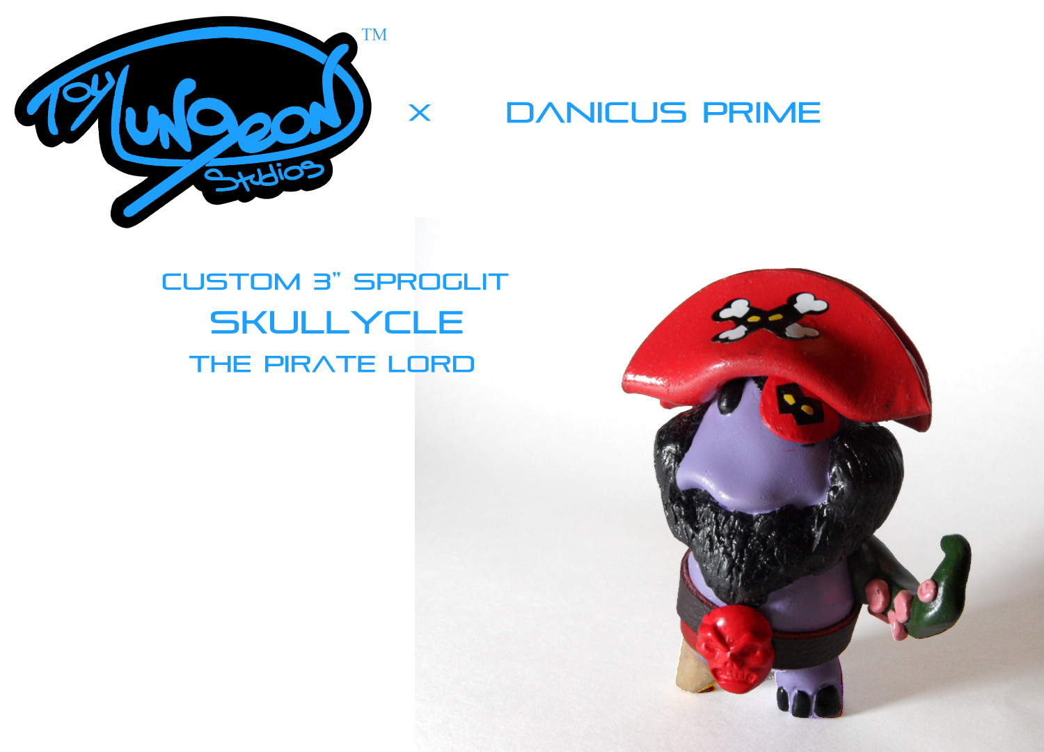 Skullycle: The Pirate Lord of the 7 Black Seas!